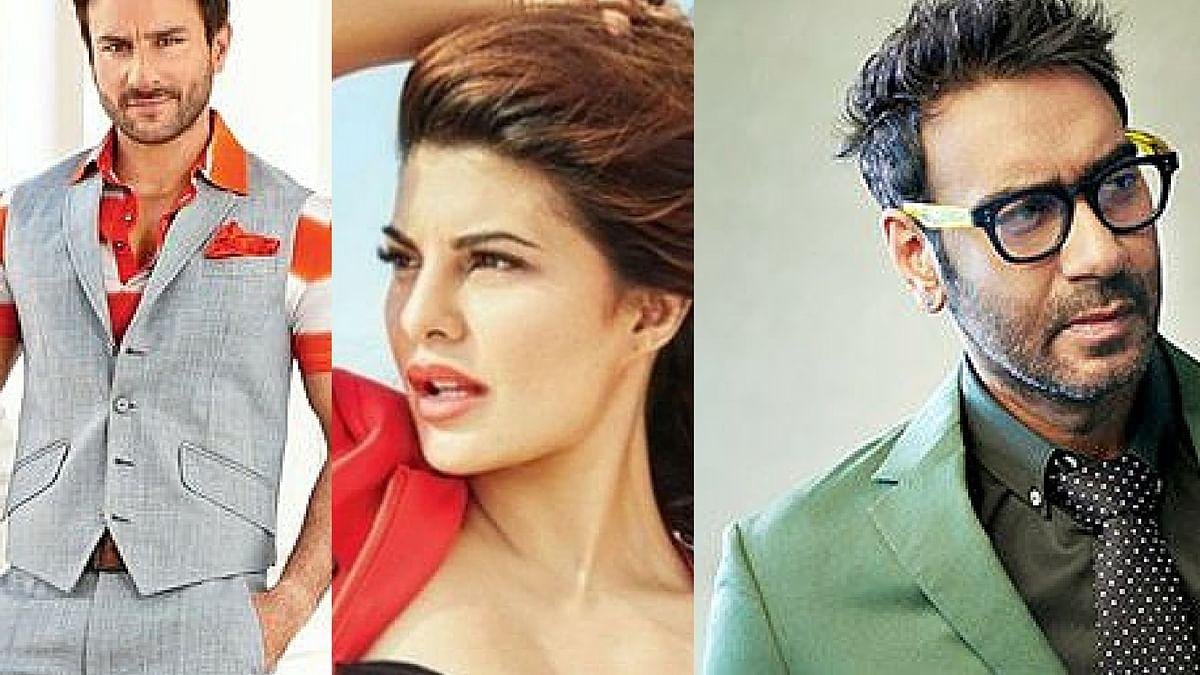 Saif Ali Khan, Jacqueline Fernandez and Ajay Devgn
