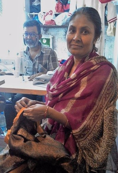 Purna Sarkar has conducted five workshops all over the city to encourage repair. (Photo: The News Minute)
