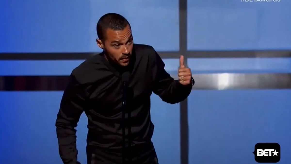 Jesse Williams Gave a Powerful Speech on Racism at the BET Awards