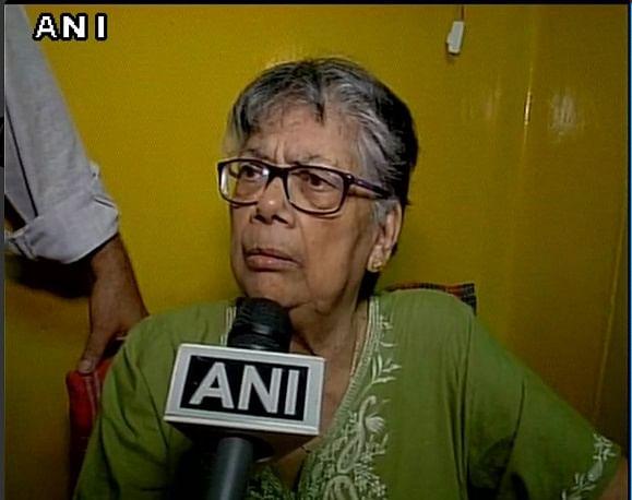 Judith D'Souza's mother. (Photo: ANI)