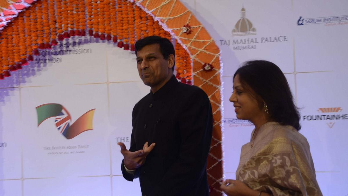 Reserve Bank of India governor Raghuram Rajan during a charity reception at a Mumbai hotel on 10 April 2016. (Photo: IANS)