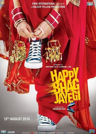 """The official poster of Happy Bhag Jayegi (Photo: <a href=""""https://twitter.com/search?f=images&amp;vertical=default&amp;q=happy%20bhag%20jayegi%20&amp;src=typd"""">Twitter</a>)"""