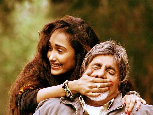 Jiah had a dream debut with Amitabh Bachchan in <i>Nishabd.</i>
