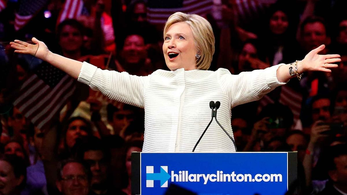 Hilary Clinton's supporters nervously eye polls as White House race tightens. (Photo: AP)