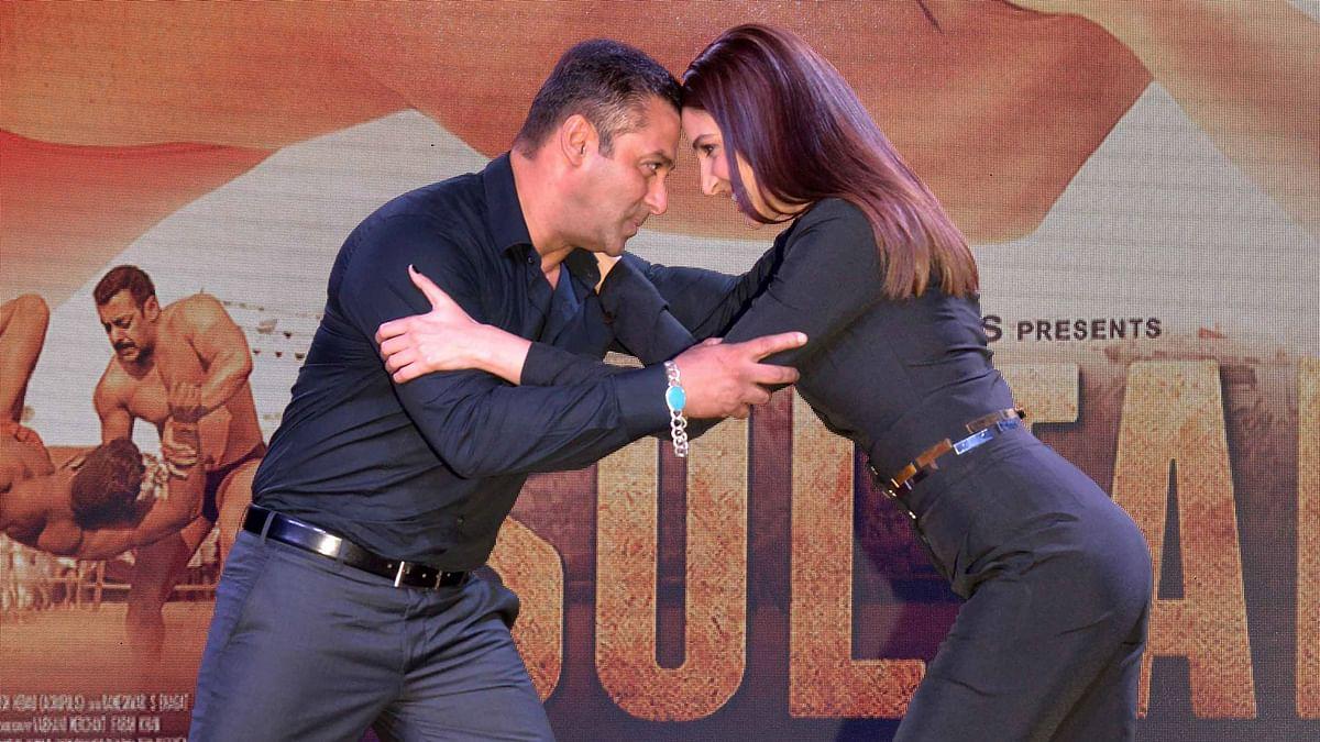 Salman Khan and Anushka Sharma (Photo: Yogen Shah)