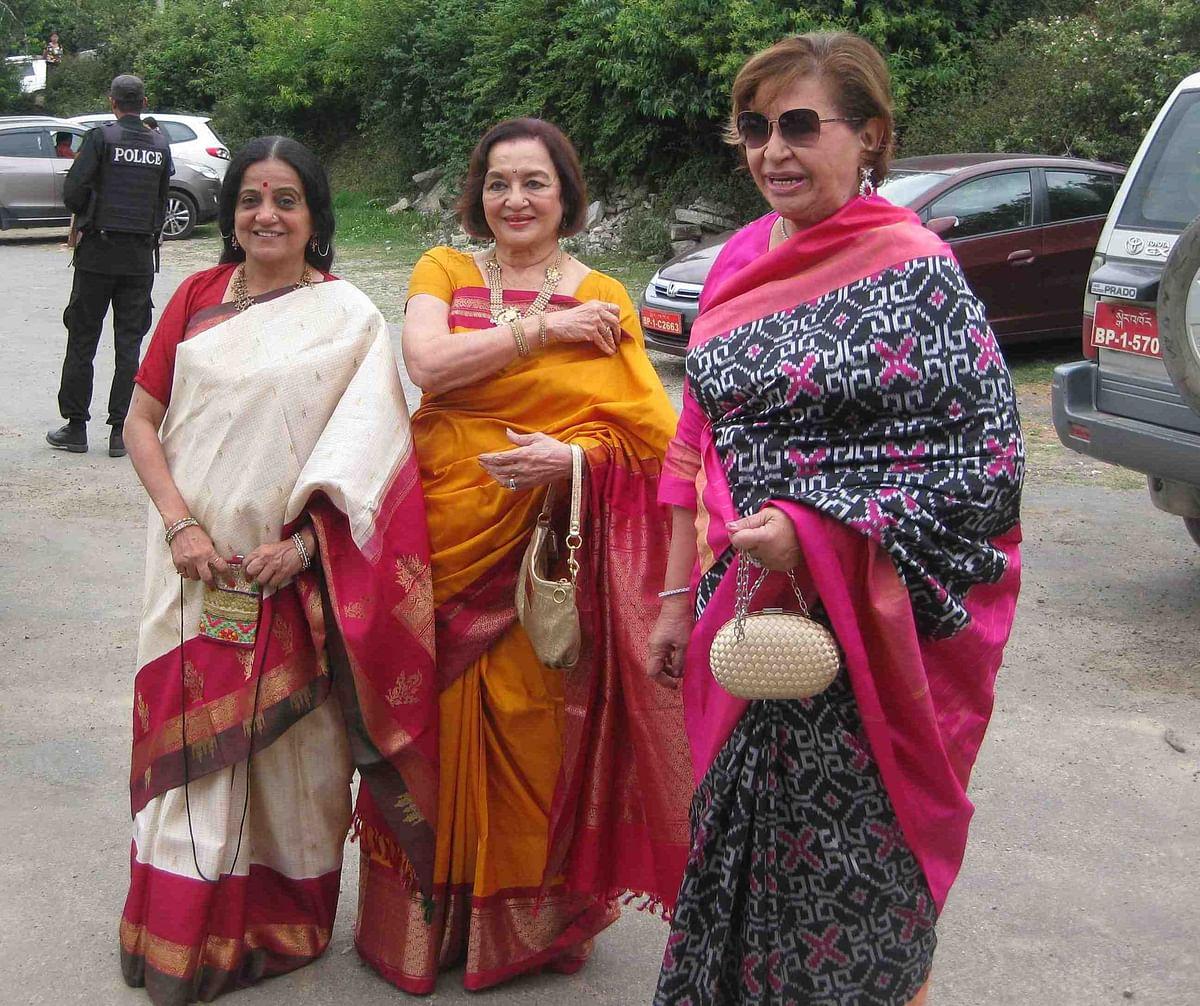 Bhawana Somaaya, Asha Parekh and Helen Khan (Photo courtesy: Bhawana Somaaya)