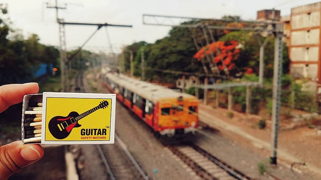 """A matchbox with the unusual name, Guitar safety matches. (Photo Courtesy: <a href=""""https://www.facebook.com/matchboxmemory/info/?entry_point=page_nav_about_item&amp;tab=page_info"""">Matchbox Memory)</a>"""