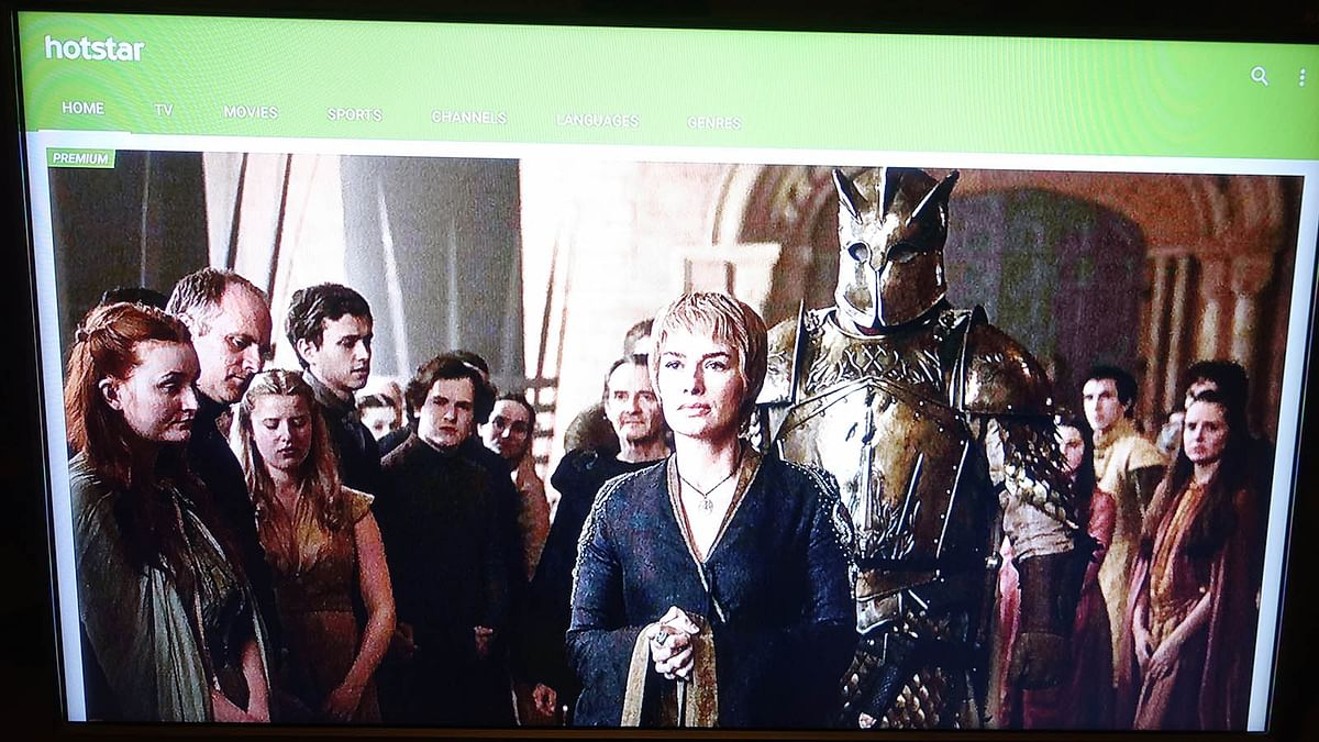 Watch Game of Thrones on the Amkette Evo TV 2. (Photo: <b>The Quint</b>/@2shar)