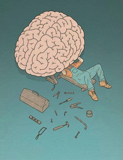 "The Brain controls Everything. (Photo: Tumblr/<a href=""http://askmeabout-mybxgcxck.tumblr.com/post/145487202538/working"">askmeabout-mybxgcxck</a>)"