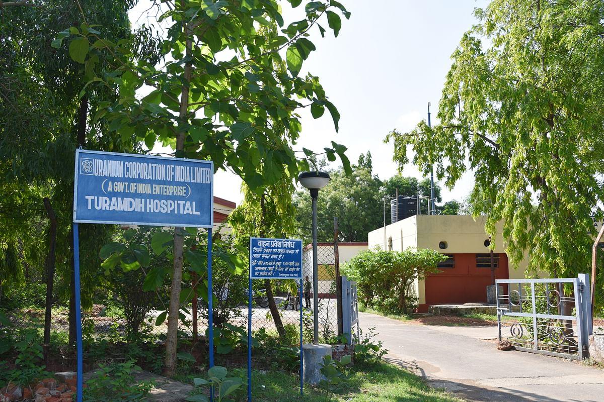 All injured workers were taken to Turamdih Hospital. (Photo: Tanmoy Bhaduri)