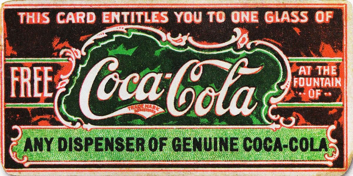 We saved a coupon for you, from waaay back. You're welcome. (Photo Courtesy: Wikipedia)