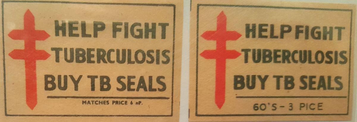Matchbox covers with a public service announcement (Photo: <b> The Quint)</b>