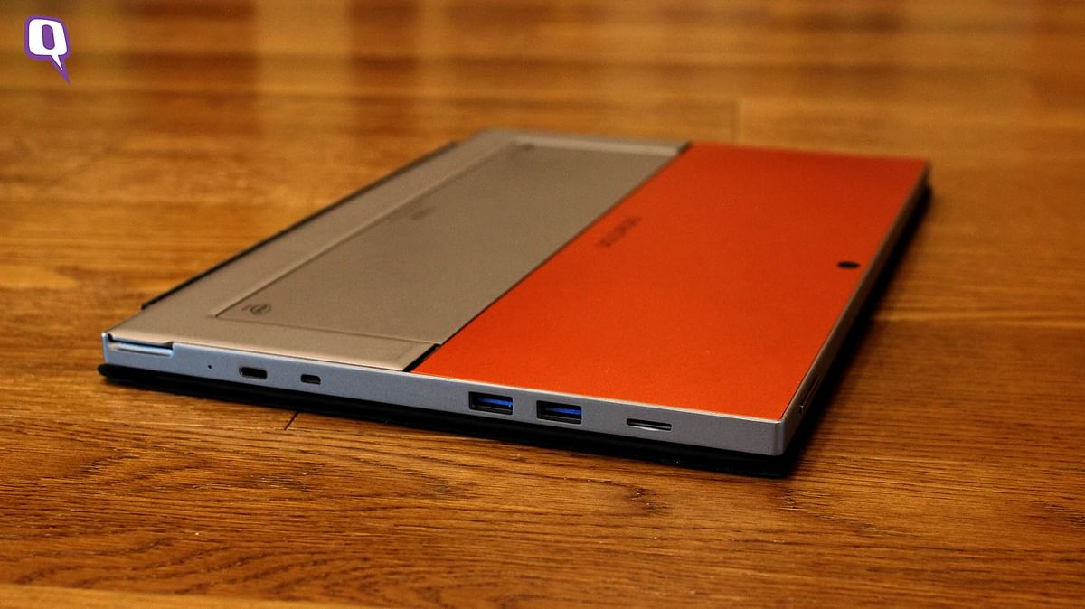 Smartron t.book gets two USB 3.0 ports. (Photo: <b>The Quint</b>)