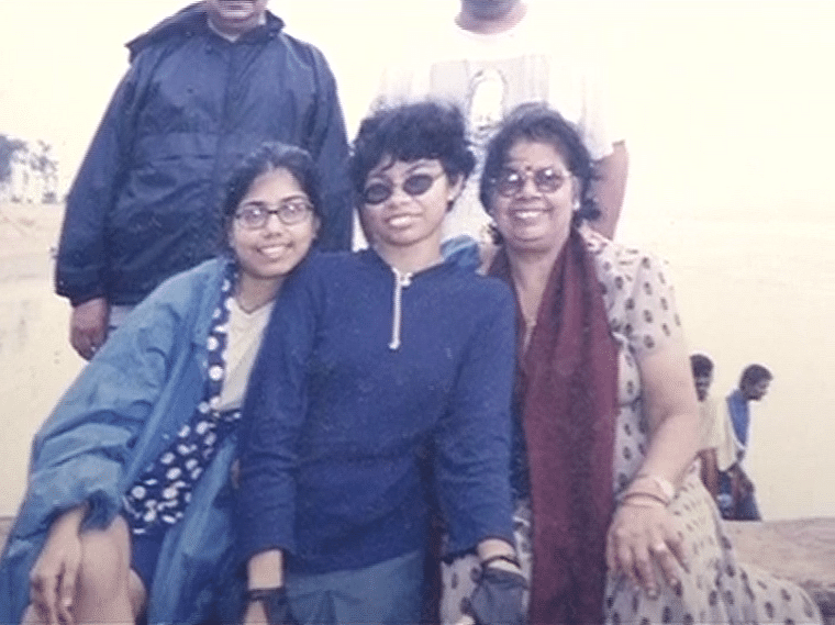 Judith D'Souza along with her family. (Photo: ANI)