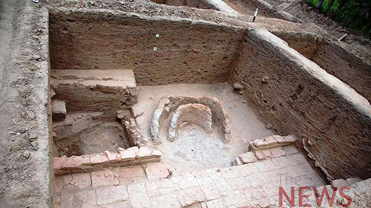 Images From a Harappa Like Sangam Era Site Found in Tamil Nadu