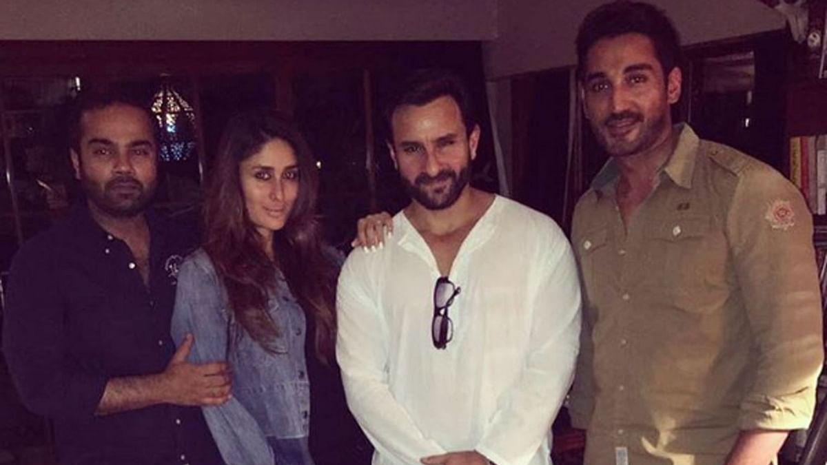 Kareena and Saif with friends (Photo: Instagram)