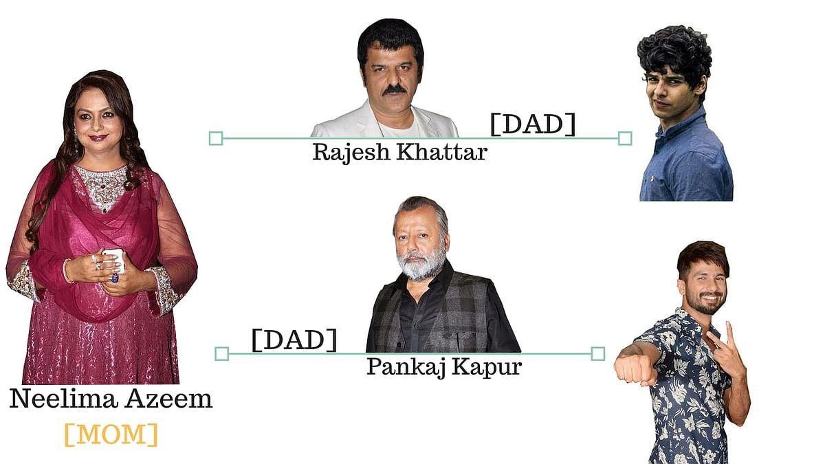The Kapoor-Khatter family tree