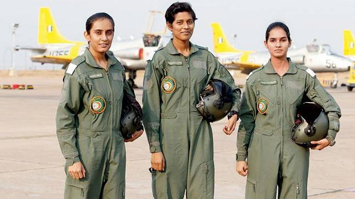 In Pics: The 3 Women Fighter Pilots Who Will Fly To Make History