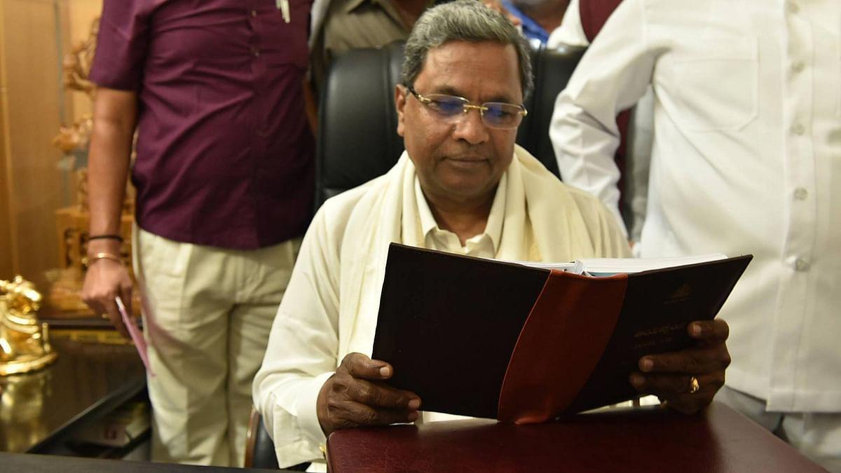 Karanataka CM Siddaramaiah.