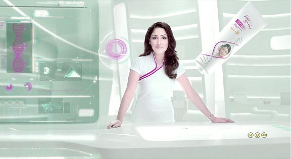"Yami Gautam in a fairness cream commercial (Photo courtesy:Twitter/<a href=""https://twitter.com/galat_fehmi"">@galat_fehmi</a>)"