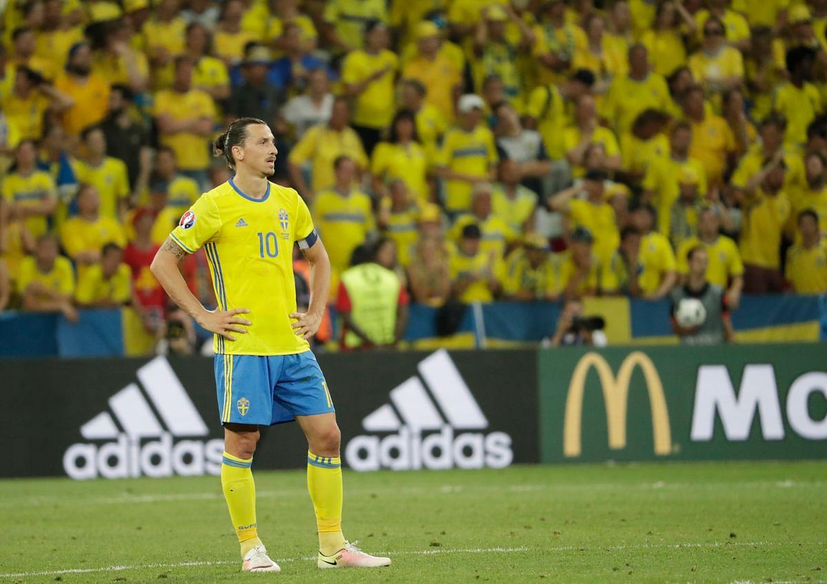 Zlatan Ibrahimovic. (Photo: AP)
