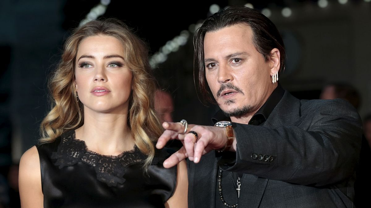 Johnny Depp and Amber Heard are currently entangled in a messy divorce (Photo: Reuters)