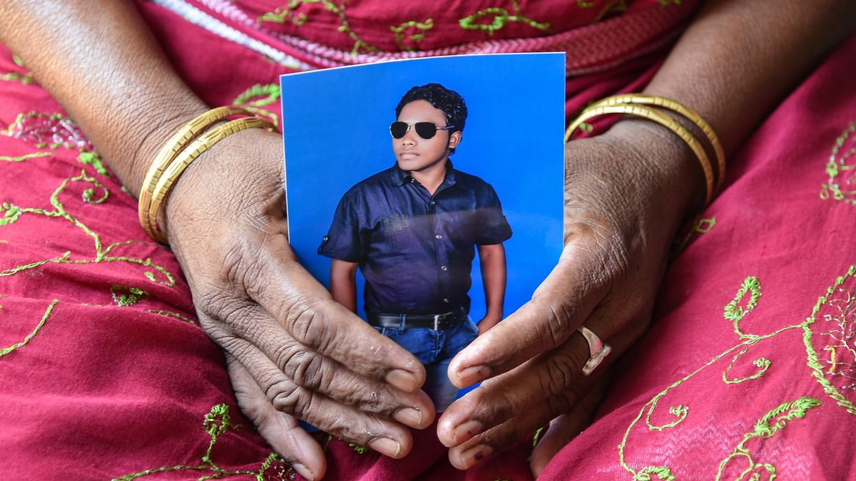 Three miners died in an accident in Turamdih Uranium Mine run by UCIL on 28 May. (Photo: Tanmoy Bhaduri)