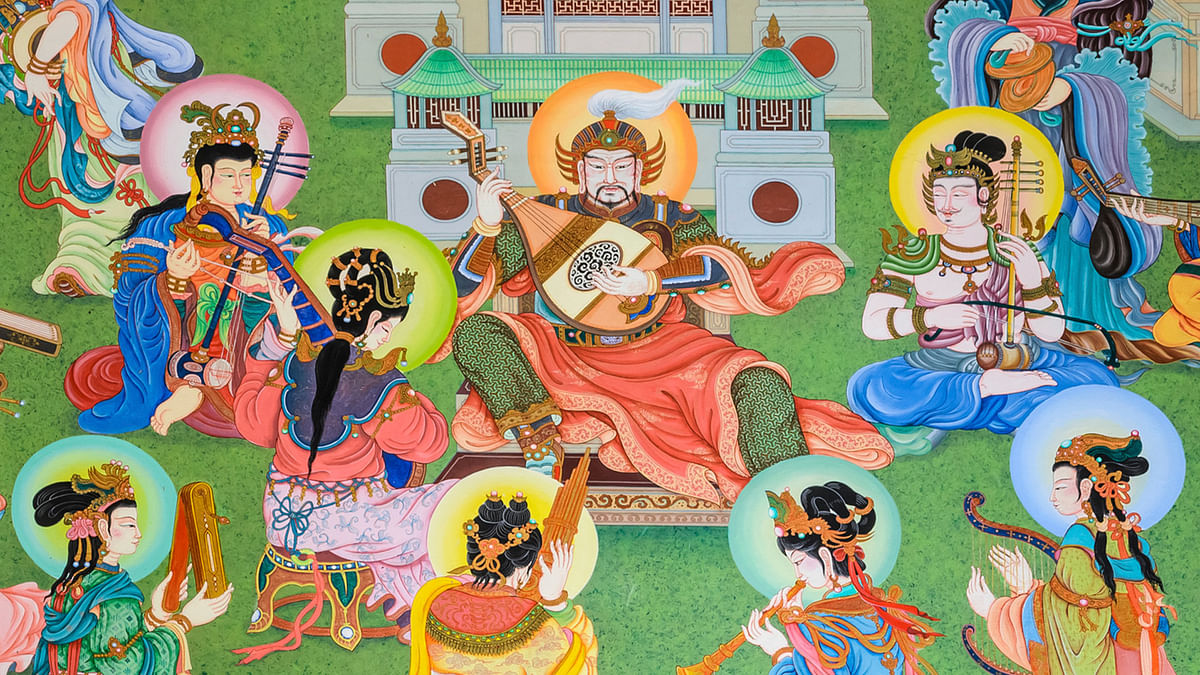 Every culture is attuned to a specific <i>raga. </i>That Chinese warlord must definitely be playing a <i>varnam in Bhoop raag. </i>(Photo: iStockphoto)