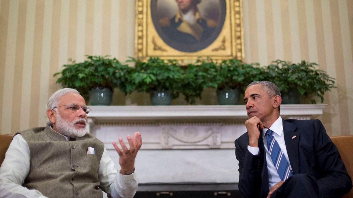 Modi and Obama a the White House (Photo: AP)