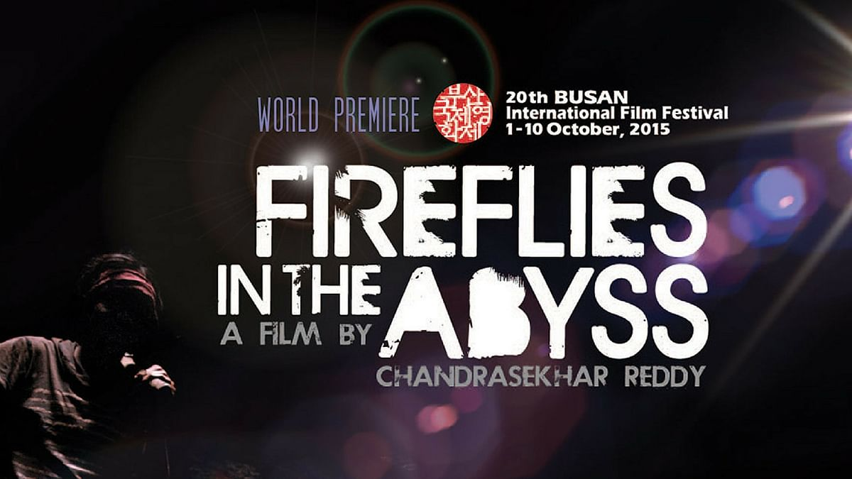 The poster of <i>Fireflies in the Abyss </i>(Photo Courtesy: Provided to <i>The Quint</i> by Indira Kannan)