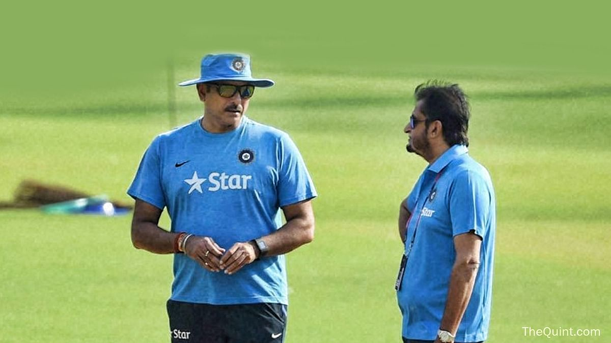 Ravi Shastri and Sandeep Patil are now fast becoming the two front-runners for India's coach's job. (Photo: PTI)