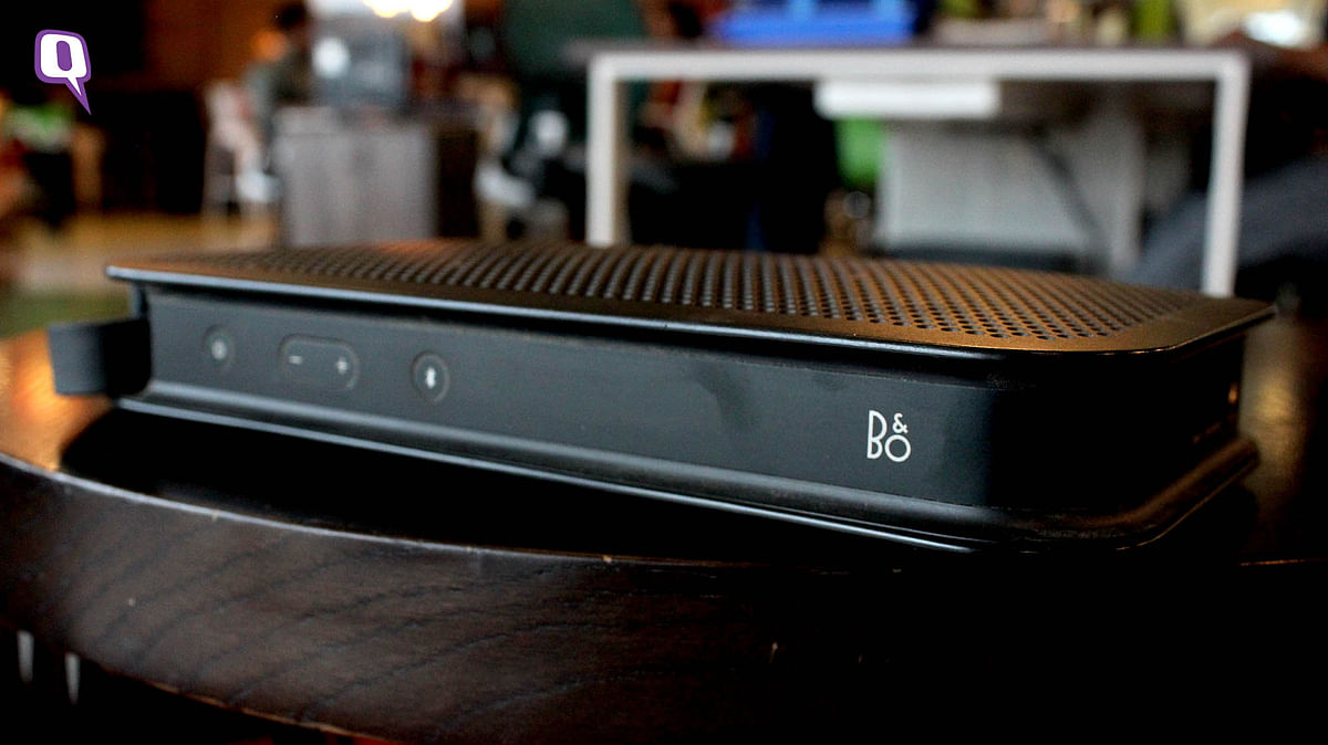 B&amp;O BeoPlay A2 speaker. (Photo: <b>The Quint</b>)