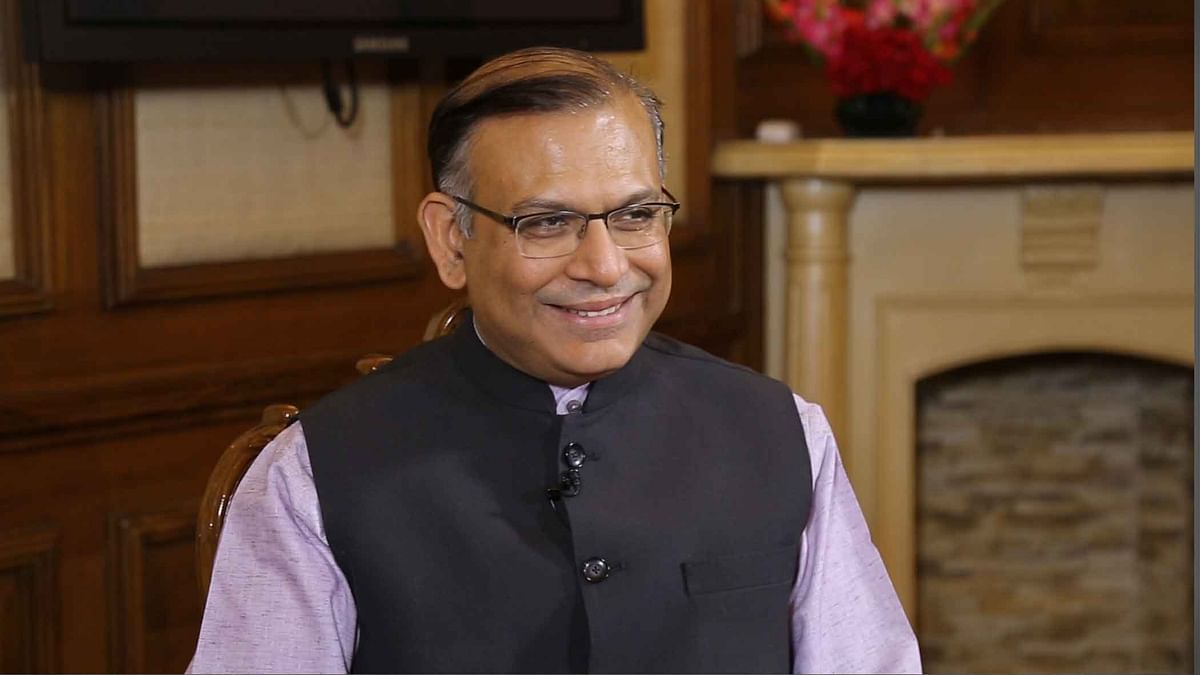 MoS Finance Jayant Sinha in an exclusive interview with The Quint.