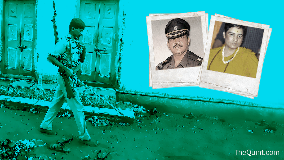 The 2008 Malegaon blasts investigation is a textbook case of political interference in terror cases. (Photo altered by<b> The Quint)</b>