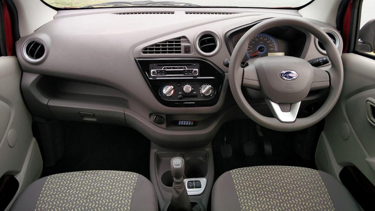 Interiors of the Datsun redi-Go. (Photo Courtesy: MotorScribes)