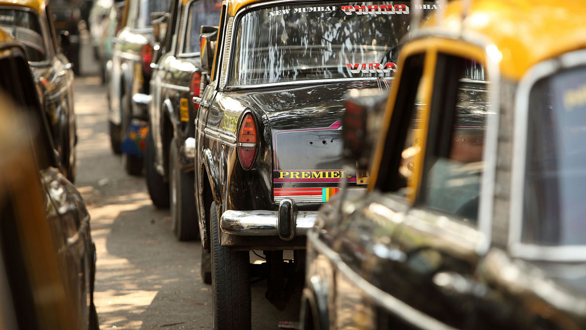 Taxis lined up in Mumbai (Image used for representational purpose only).