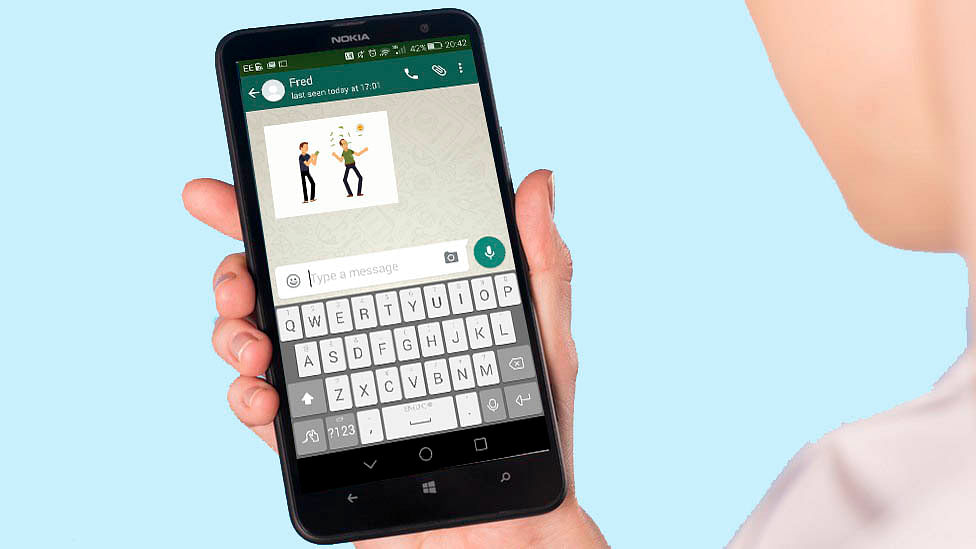 Get set for more GIFs in your life, this time on WhatsApp. (Photo:<b> The Quint</b>)