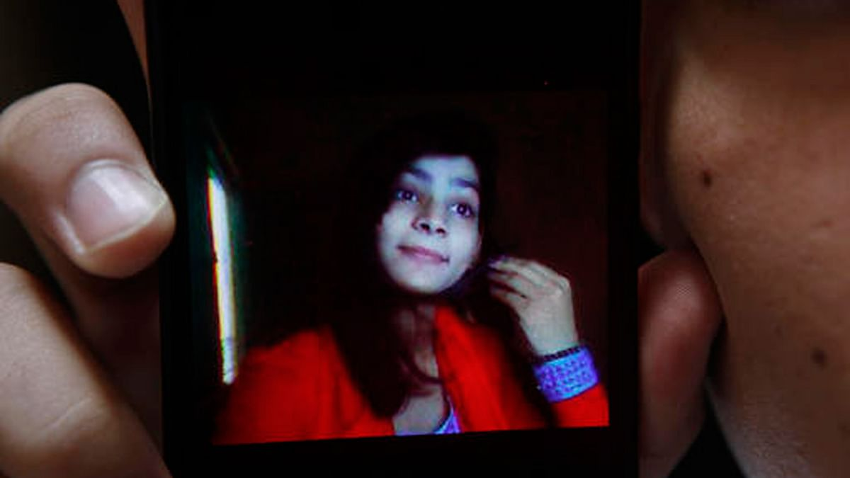 Picture of the victim, Zeenat Rafiq who was allegedly burnt alive by her mother in Pakistan on Wednesday. (Photo: AP)