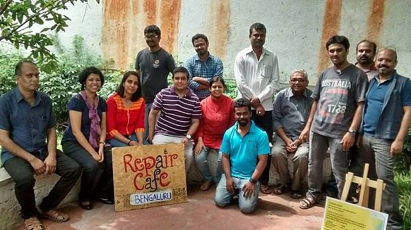 The Repair Cafe', Bengaluru is modelled on the Repair Café Foundation in Amsterdam. (Photo: The News Minute)