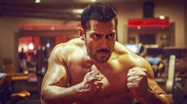 Salman Khan in a scene from <i>Sultan</i>