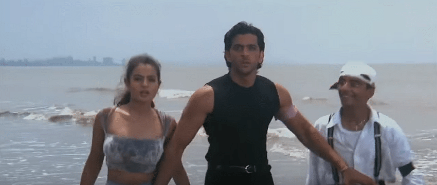 Cut to this scene of Ameesha Patel who was the lead in the film.