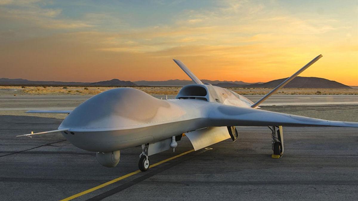 """Predator C 'Avenger' UAV (Photo Courtesy: <a href=""""http://www.ga-asi.com/"""">www.ga-asi.com</a>)"""
