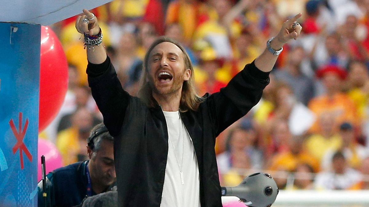 David Guetta performs at the Euro 2016 opening ceremony. (Photo: AP)