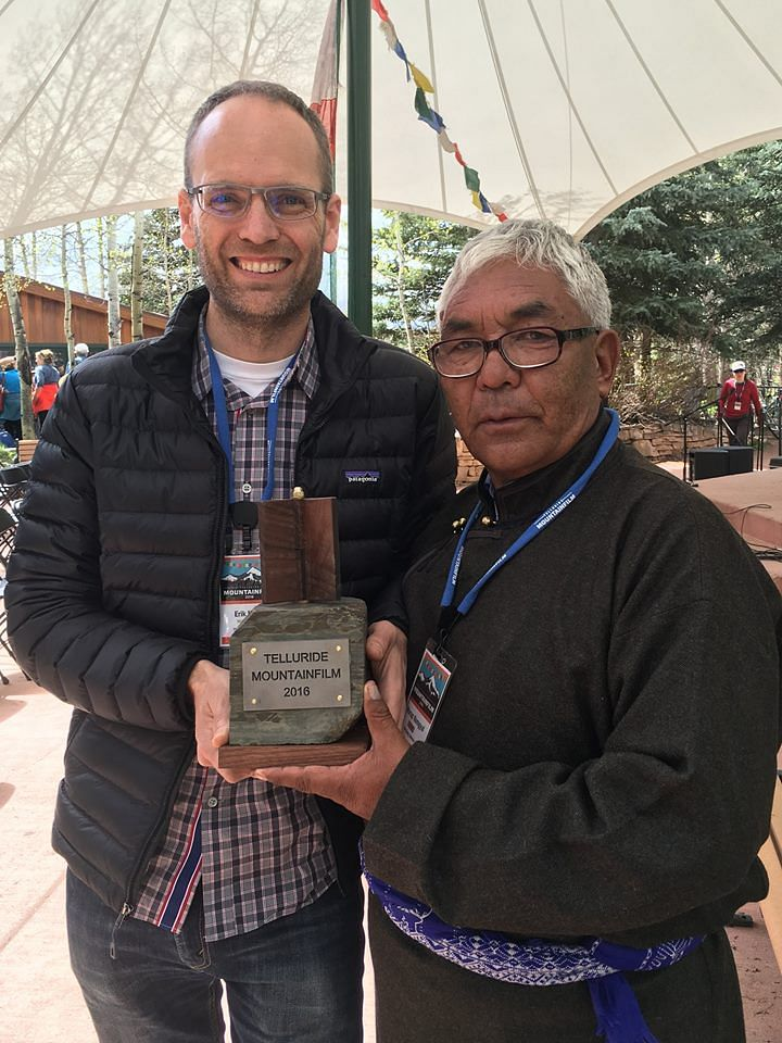"By the end of the festival the film had garnered enough attention to take home the Indomitable Spirit Award.&nbsp;(Photo Courtesy: <a href=""https://www.facebook.com/thesongcollector/photos"">Facebook/The Song Collector</a>)"