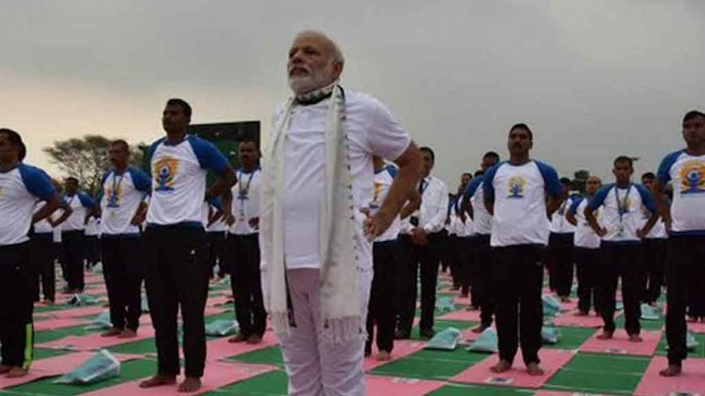 PM Modi's Top Five Quotes on International Yoga Day