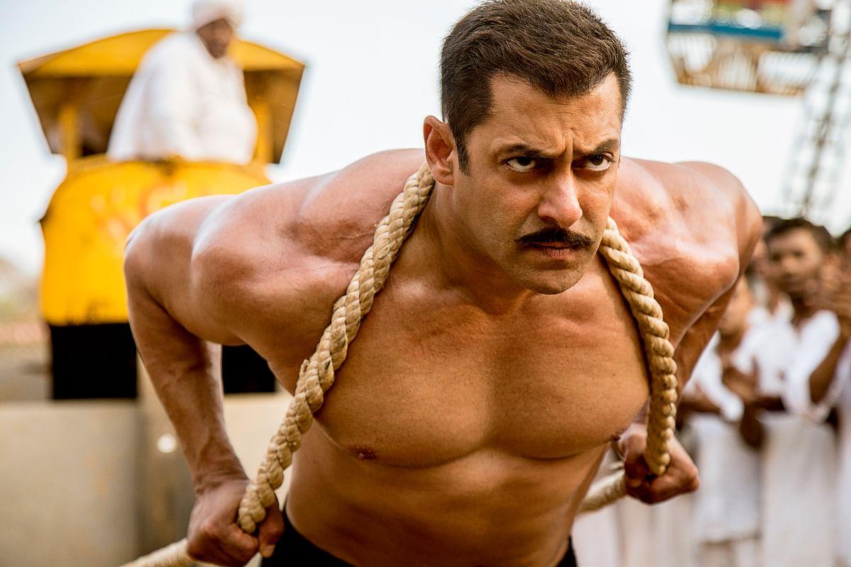 Salman Khan in a still from <i>Sultan </i>