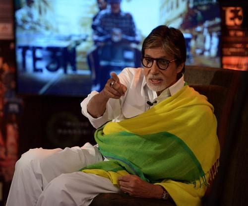 Amitabh Bachchan (Photo: srbachchan.tumblr.com)