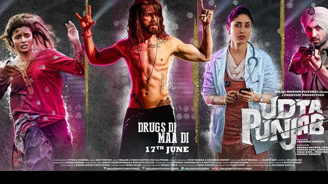 A poster of the film, Udta Punjab. (Photo: Phantom Films Limited)