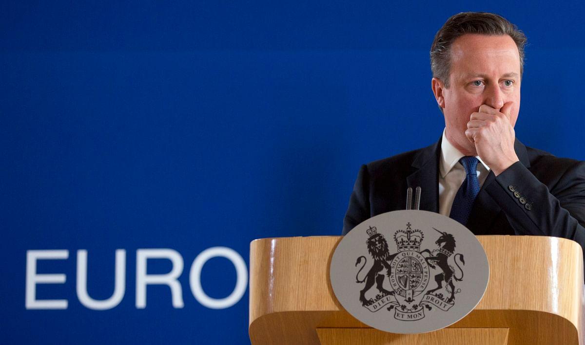 File photo of David Cameron at an EU summit. (Photo: AP)
