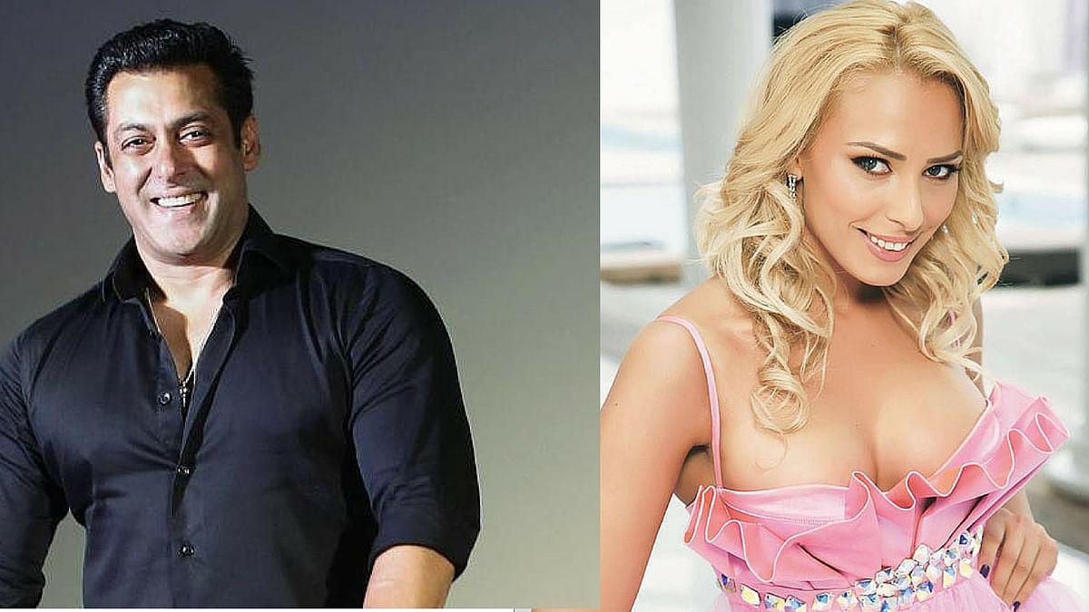Salman Khan and Iulia Vantur. (Photo:Twitter)